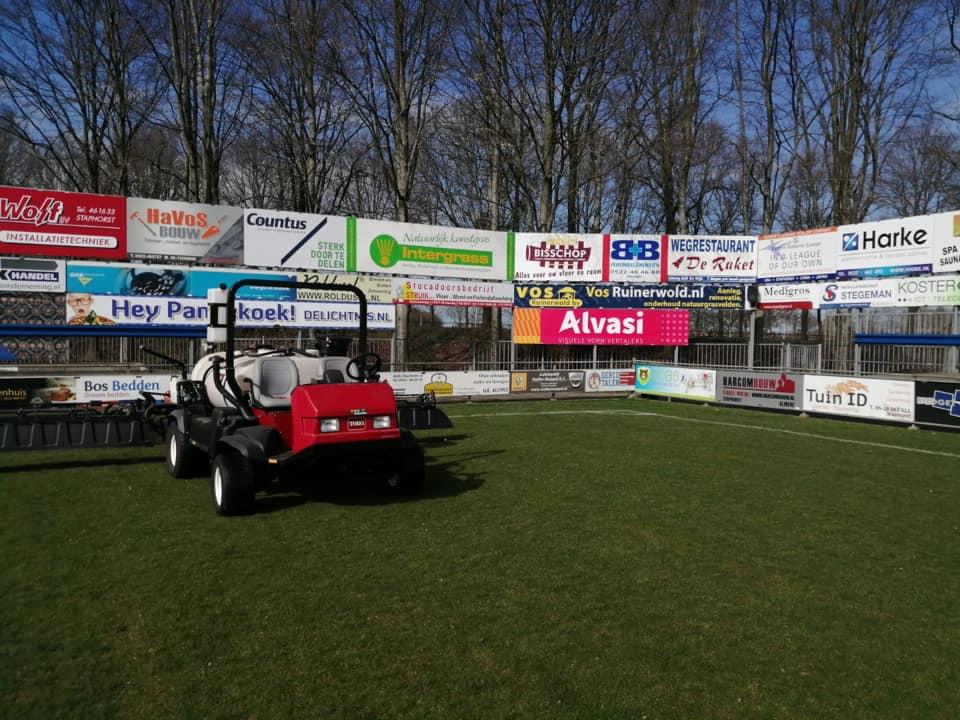 Aanleg sportveld
